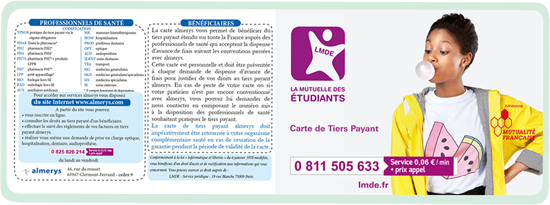 ma carte tiers payant lmde